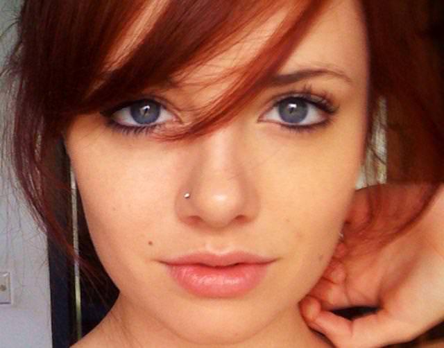 眼の色が宝石のように綺麗な色をしてる外人美人wwww 3021