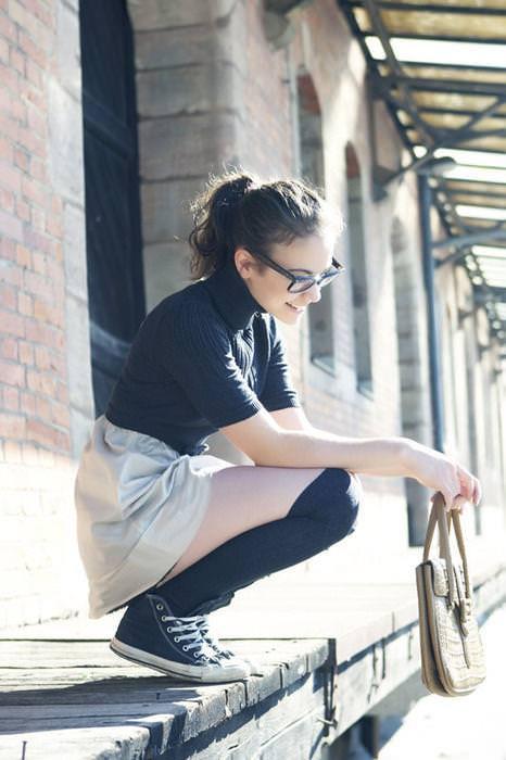メガネっ娘女子が好きなのは万国共通な海外美人www 0444
