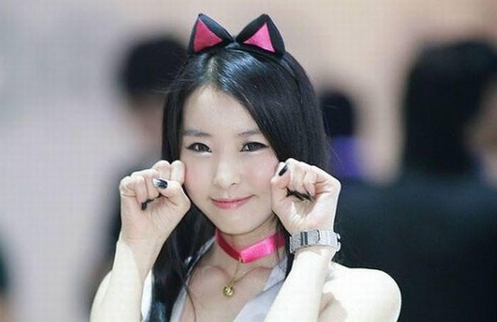 顔面ドアップ韓国整形美人たちの可愛い笑顔www 0630