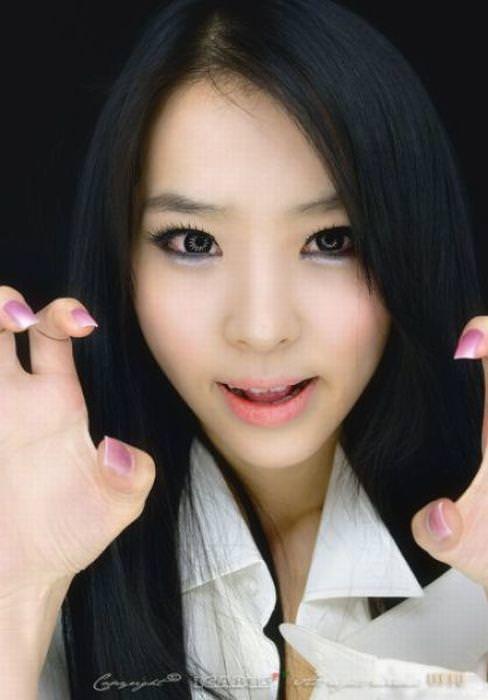 顔面ドアップ韓国整形美人たちの可愛い笑顔www 0643