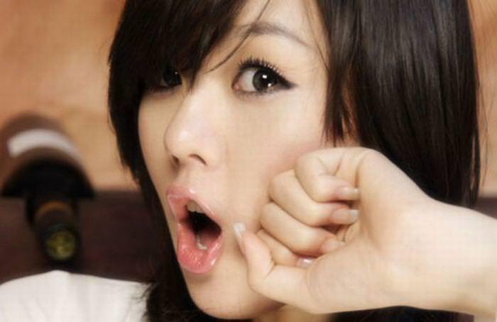 顔面ドアップ韓国整形美人たちの可愛い笑顔www 0644