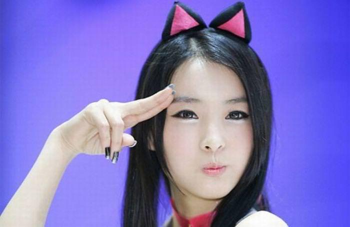 顔面ドアップ韓国整形美人たちの可愛い笑顔www 0645