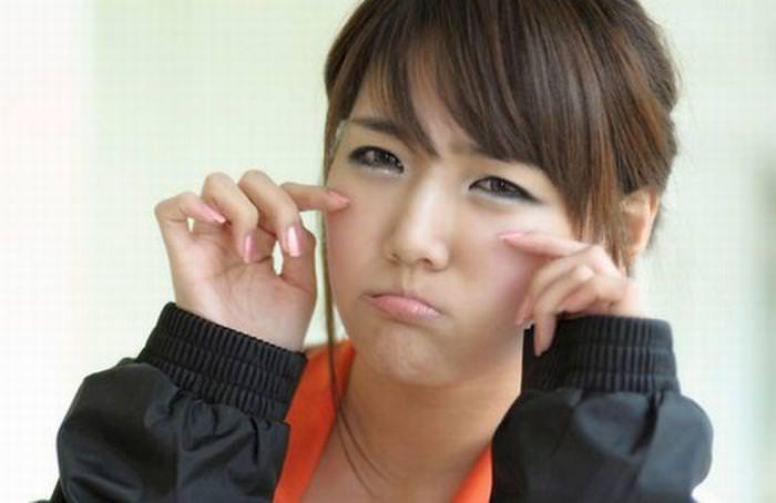顔面ドアップ韓国整形美人たちの可愛い笑顔www 0648