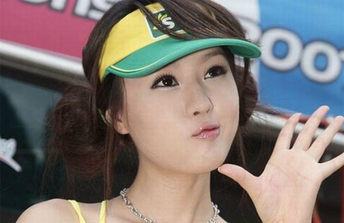 顔面ドアップ韓国整形美人たちの可愛い笑顔www 0650