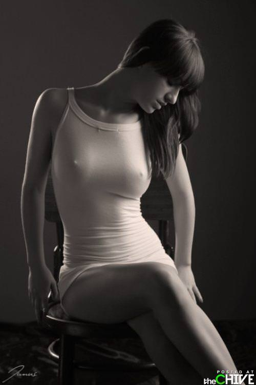 海外美女のモッコリ乳首がいやらしいノーブラ着衣おっぱいwwwwww 0840