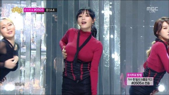 【K POPアイドルエロ画像】『オッパイ揺れまくりwwww』巨乳アイドルが揺れまくりwwとんでもなくエロしこwwww 10 102
