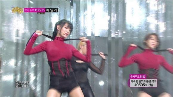 【K POPアイドルエロ画像】『オッパイ揺れまくりwwww』巨乳アイドルが揺れまくりwwとんでもなくエロしこwwww 8 105