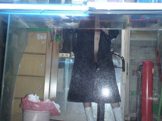 【台湾露出】『日乳美少女がヤバいの売ってるぞw』全裸で違法タバコ売ってる美少女がオマンコ●見せとかヤバすぎるww 34 4