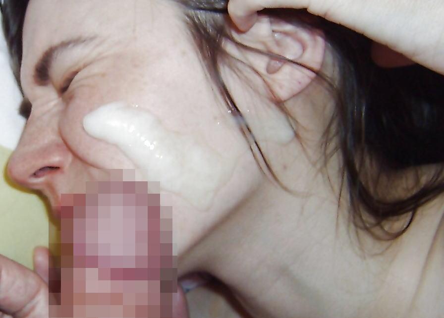 【外国人顔射】海外エロ画像w巨根から大量の汚いザーメンぶっかけしったたwwwww 27 90
