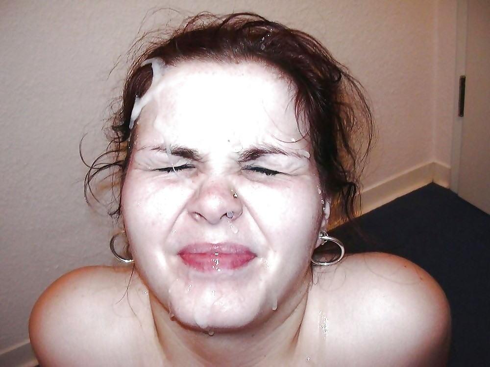 【外国人顔射】海外エロ画像w巨根から大量の汚いザーメンぶっかけしったたwwwww 4 92