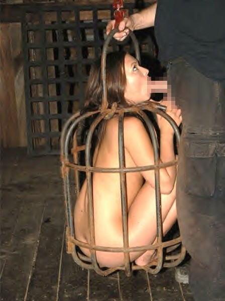 【調教奴隷外人エロ画像】『鳥かごにいれちゃうぞwww』まじでやば杉wやりたい放題し放題wwwwwwww 11 35