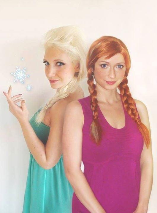 【アナ雪コス】アナと雪の女王 エルサのコスプレ姿がエロすぎる外国人ポルノエロ画像www 20 108