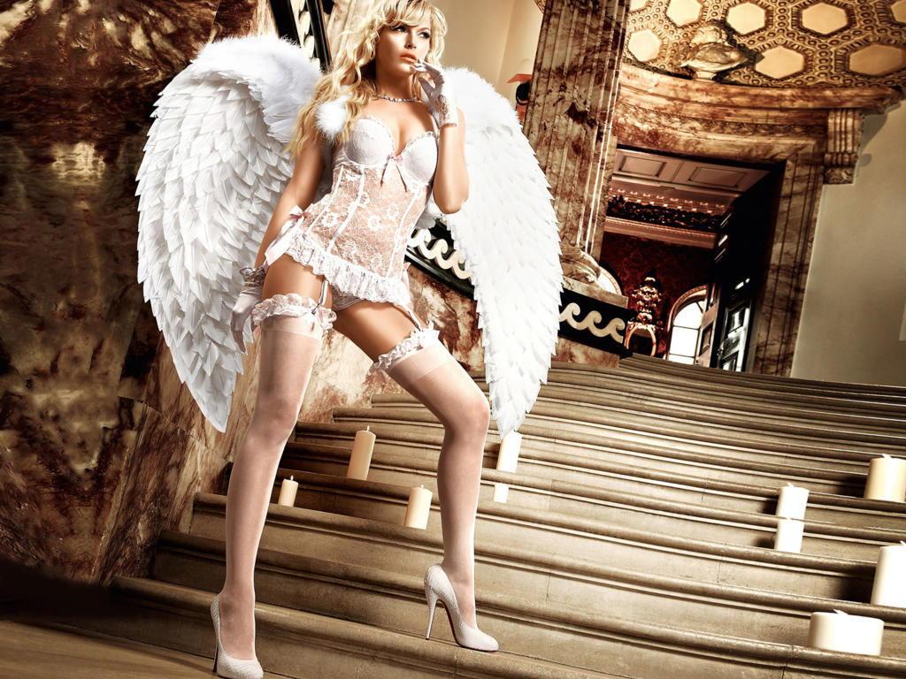 【外国人エンジェルコス】『むっちゃかわええ~』世界の美少女が天使ちゃんコスプレでエロ撮影とかヤバすぎるだろwwwwwwwww 21 27
