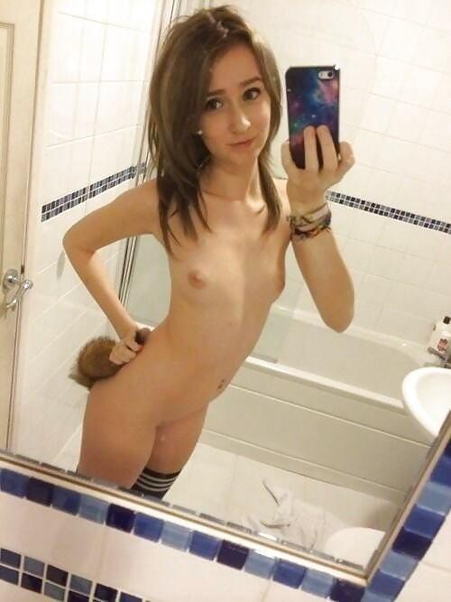 【童顔美少女ちっぱいエロ画像】外人幼顔が全裸でちっぱい貧乳見せまくり!!!!! 21 6