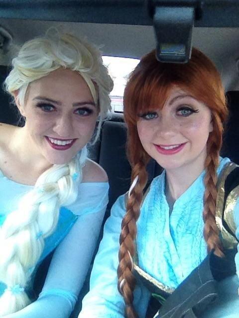 【アナ雪コス】アナと雪の女王 エルサのコスプレ姿がエロすぎる外国人ポルノエロ画像www 23 107