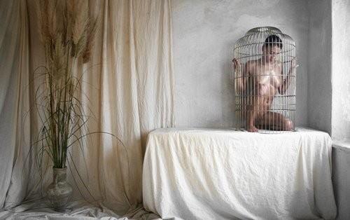 【調教奴隷外人エロ画像】『鳥かごにいれちゃうぞwww』まじでやば杉wやりたい放題し放題wwwwwwww 8 35