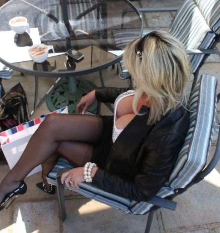 【巨乳外国人町撮り】マダムの美熟女オッパイを狙って撮影したポルノエロ画wwwwww 9 60