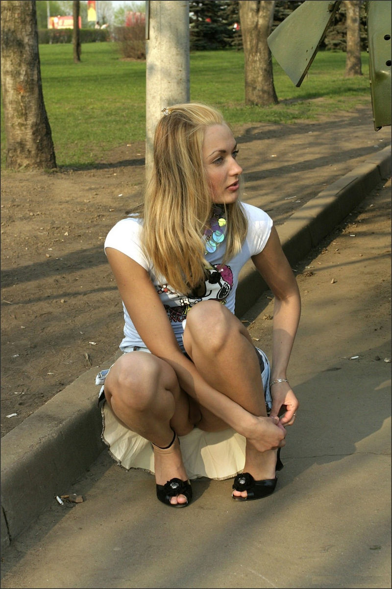 ガイコク人エロ画像wノーパンで盗撮される極上素人美少女がたまらないポルノwwwww 2 82