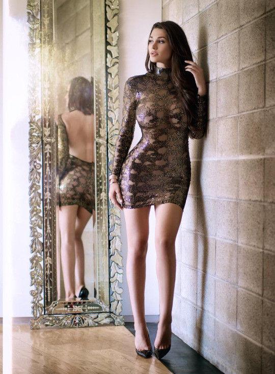 がいこくじんエロ画像wノーブラでスケスケドレスまとうSSS級美女がエロすぎるぞ~~~~ 29 32