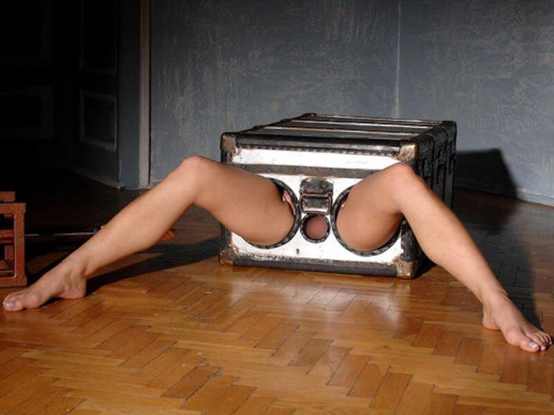 カワイ子ちゃんが箱に入って撮影しちゃうポルノ!猫みたいでかわいがりたねwwwwwww 1 96