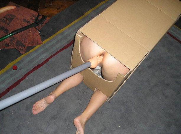 カワイ子ちゃんが箱に入って撮影しちゃうポルノ!猫みたいでかわいがりたねwwwwwww 19 96