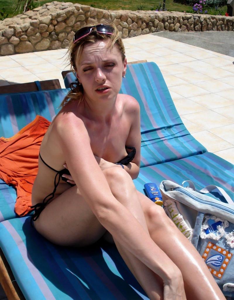 ポルノエロ画像w乳首見せちゃうw素人美女外国人のエロ画像w 32 156