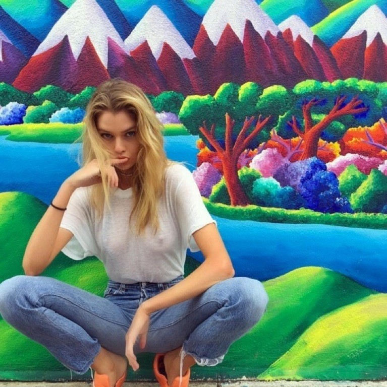 外人エロ画像w乳首立ってるやんwノーブラで街を歩く素人美女外人ポルノ写真集wwwwwwww 42 87