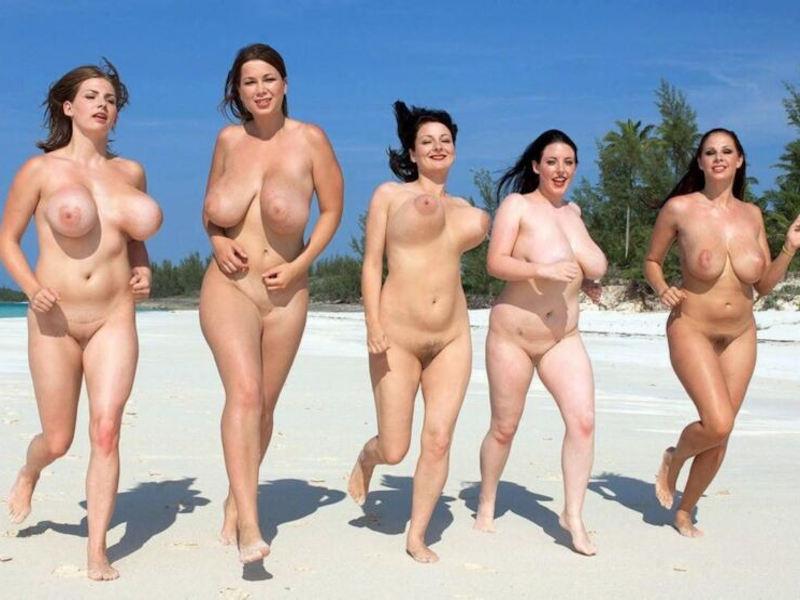 ポルノエロ画像wヌーディストビーチでおっぱい丸出しw爆乳美女が見せる!見せる!!!見せつけるぞ!!!!!!! 75 16