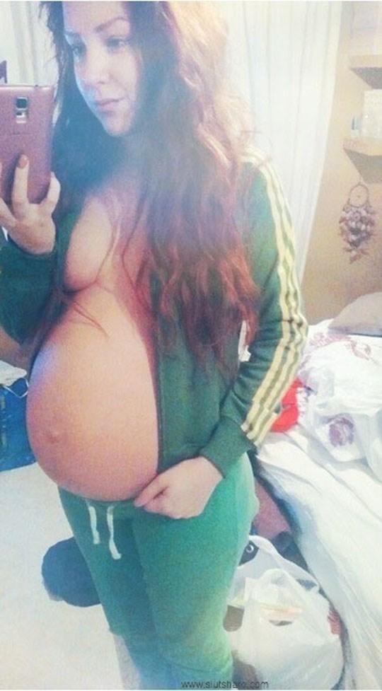 速報ーーー❖マニア必見!マタニティヌードを自撮りする女性の写真をネットで発見!! 13 18