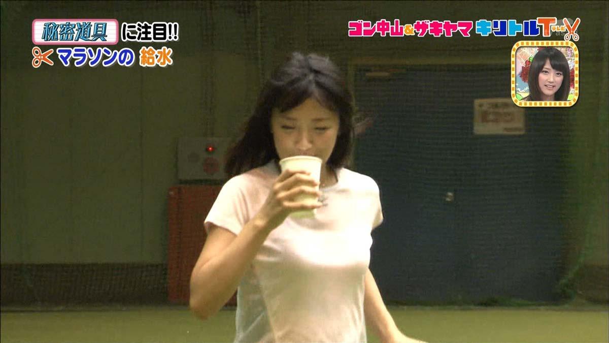 キターーーー★竹内由恵アナのおっぱいが意外とでかいので見てくれwwwwwww