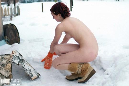 妖精発見??森林で全裸ヌードになっちゃう外国人が可愛すぎるぞ!!!!!!!! 17 250