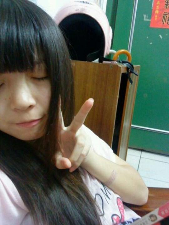 注目※台湾美少女の貴重すぎる自撮り画像はっといたぞwwwwww 2 370