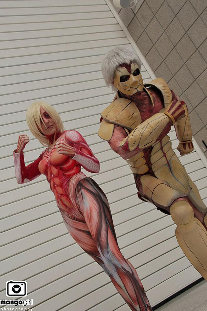 ❖閲覧注意ーーー❖キモエロ画像!!!進撃の巨人女型の巨人アニの変身したエロ画像wwwwwwwwww 20 117