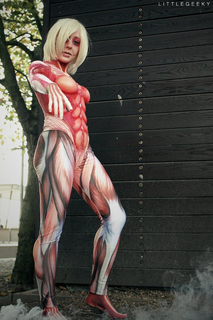 ❖閲覧注意ーーー❖キモエロ画像!!!進撃の巨人女型の巨人アニの変身したエロ画像wwwwwwwwww 21 108