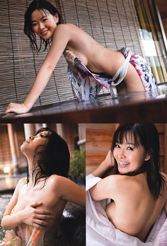 (゚∀゚)キタコレ!!乳首立ってるやん!!吉野紗の過激すぎる週プレ掲載セミヌード!!! 21 206