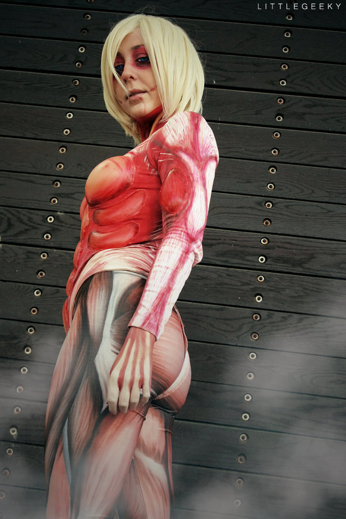 ❖閲覧注意ーーー❖キモエロ画像!!!進撃の巨人女型の巨人アニの変身したエロ画像wwwwwwwwww 23 72
