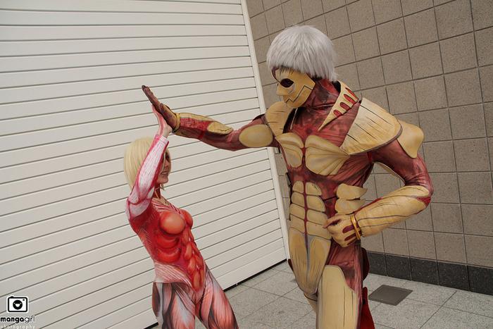 ❖閲覧注意ーーー❖キモエロ画像!!!進撃の巨人女型の巨人アニの変身したエロ画像wwwwwwwwww 25 62