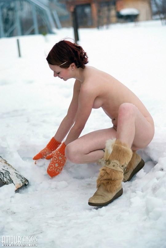 妖精発見??森林で全裸ヌードになっちゃう外国人が可愛すぎるぞ!!!!!!!! 26 89