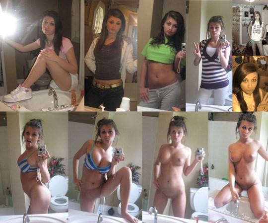 創造膨らむ女性の全裸ww外国人が着衣ビフォーアフター見せちゃうぞ!!外人エロ画像www 28 84