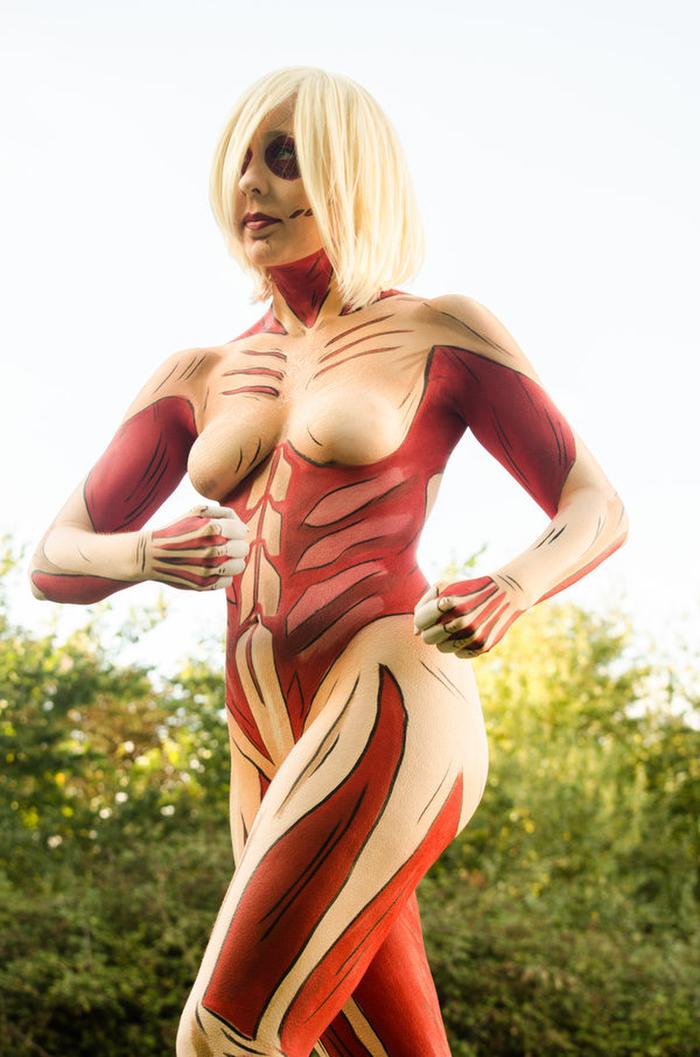 ❖閲覧注意ーーー❖キモエロ画像!!!進撃の巨人女型の巨人アニの変身したエロ画像wwwwwwwwww 3 215