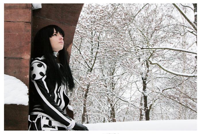 ディーグレイマン 神田ユウのエロ格好いいコスプレ姿の白人美女!!!!!!! 5 84