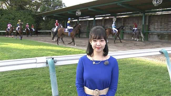 真野淑實~NHK競馬中継リポーターのオッパイが気になってしょうがいないwwwwwwww 6 534